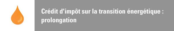 Digitec actualit s - Credit impot transition energetique 2018 ...